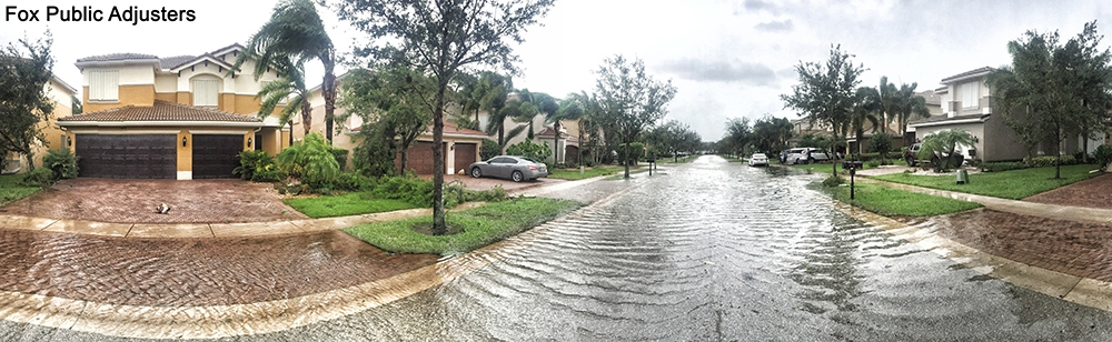 Flooding in a Boynton Beach.