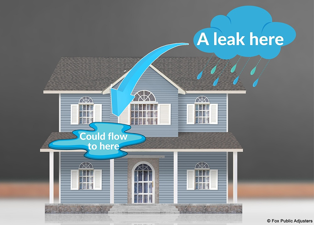 Help for a roof leak in Palm Beach County.