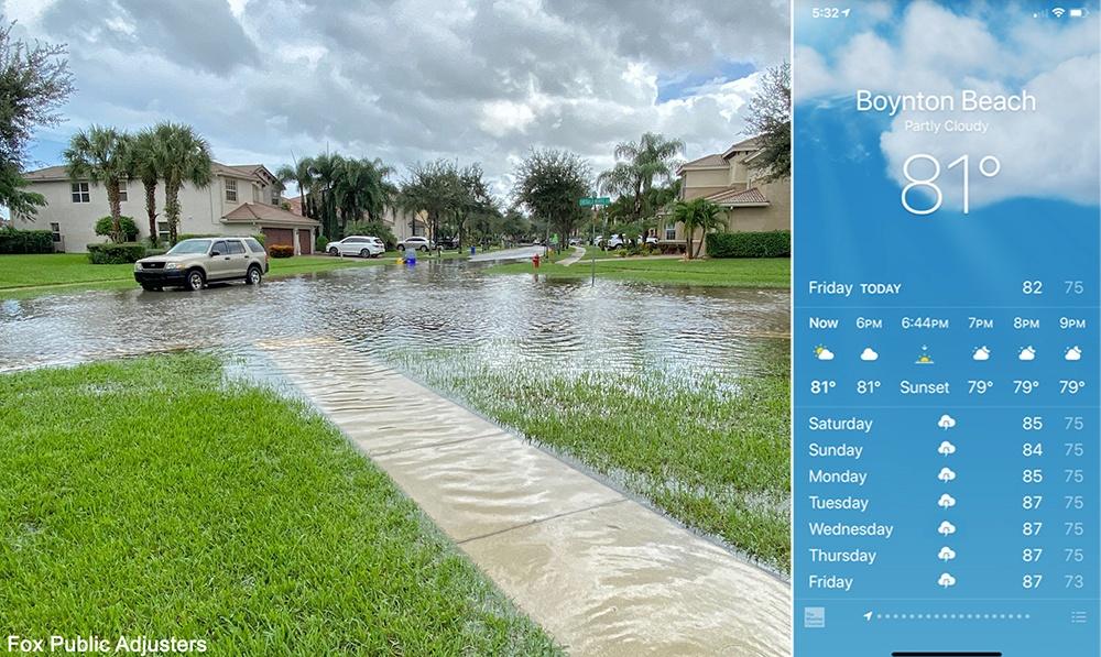 South Florida Flood Damage