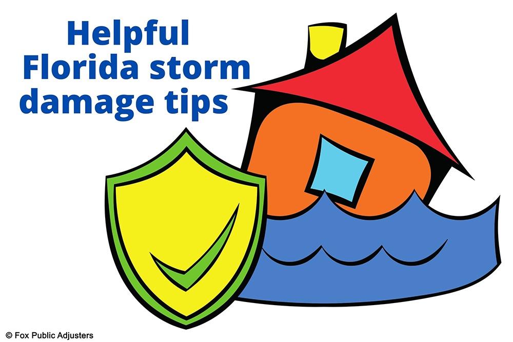 Florida storm damage help