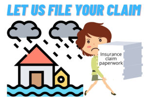 As a Palm Beach Gardens public adjuster we handle all the paperwork.