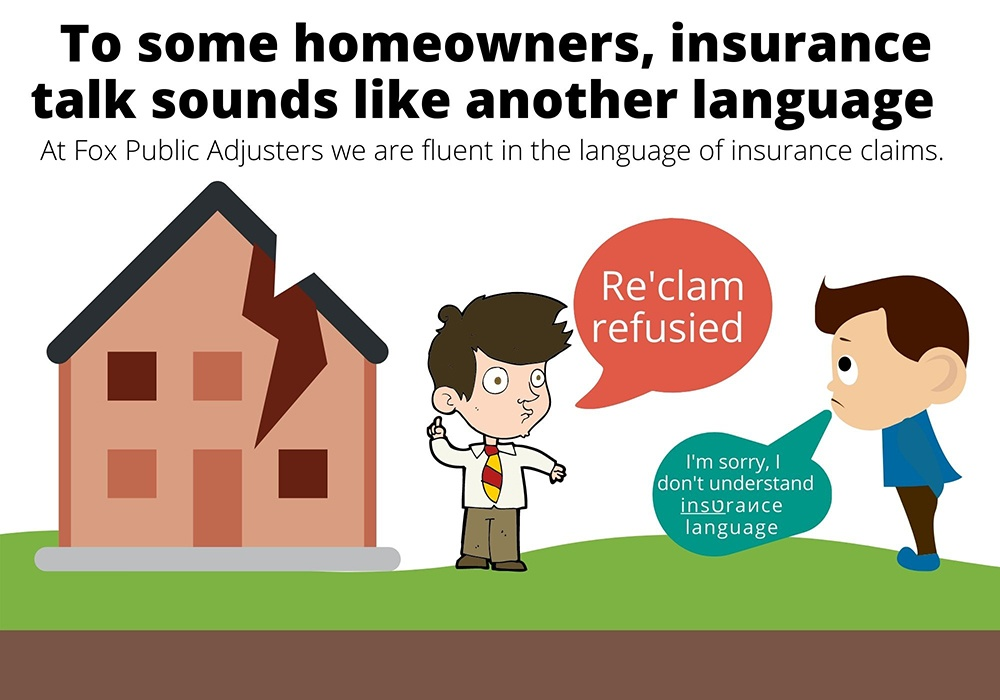 Insurance talk could confuse a South Florida homeowner.