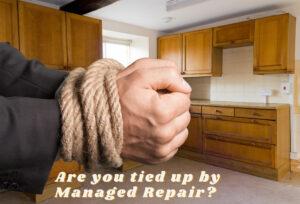 Managed repair is one insurance claim adjuster secret tactics