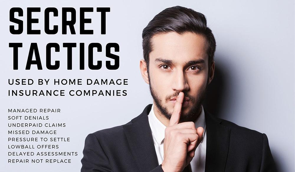 Insurance agent with a secret.