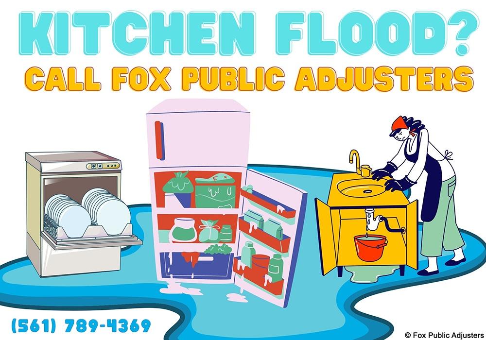 Refrigerator, Dishwasher, Sink, all can cause a flood.